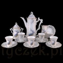 Zabytkowy serwis: okaz dla kolekcjonera porcelany