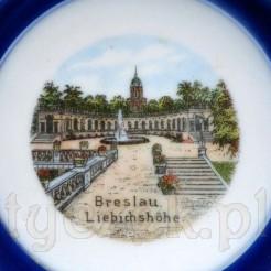 Antyk z Breslau - suwenir w postaci popielniczki z widoczkiem