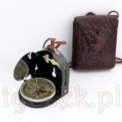 Kompletny kompas Bezard oraz skórzane etui LUFFT