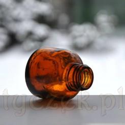 Brązowa butelka posłużyć może na atrament lub leki