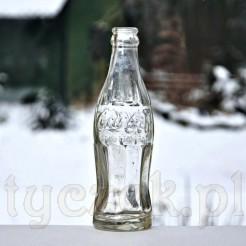 Kolekcjonerski zabytek z przed II Wojny Światowej butelka COCA COLA