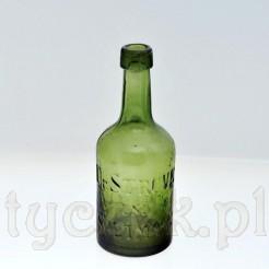 Znakomita flaszka po wodzie mineralnej DR Struve Soltmann Breslau