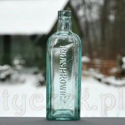 Butelka alkoholowa B.Kasprowicz antyk z Gniezna