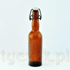 Kolekcjonerska flaszka browary FUHRMANN BAD POLZIN