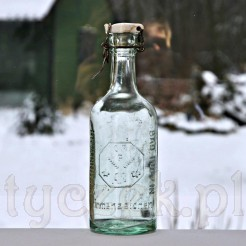 Browarniana butelka Fuhrmann z porcelanką