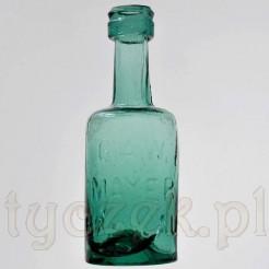 Rzadka butelka z dawnego Wrocławia - z napisami Breslau Mayer