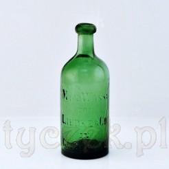 Gross Glogau zabytkowa butelka z XIX wieku