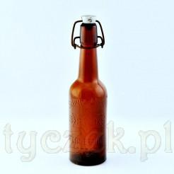 Oryginalna butelka dawna po piwie marki Sternbrauerei Stolp