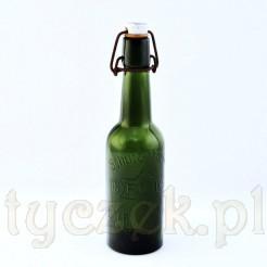Antyk STOLP butelka szklana z oryginalnym zamknięciem