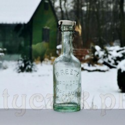 Oryginalna, zabytkowa butelka browaru Reetz z Czaplinka