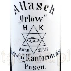 Zabytkowa reklamowa flaszka Kantorowicz Posen