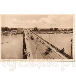 Most Ks. Józefa Poniatowskiego w Warszawie zdobi tą dawną pocztówkę