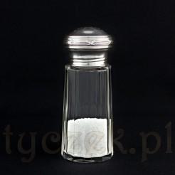 Dostojny pojemnik na cukier, pieprz lub sól
