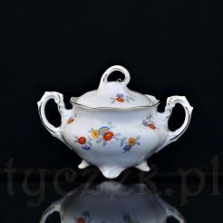 Porcelanowa cukierniczka wykonana w Jaworzynie Śląskiej
