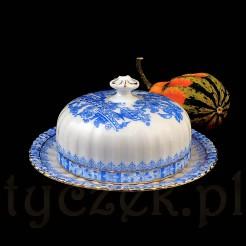 Oryginalny porcelanowy pojemnik na masło