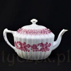 Elegancja dawnej porcelany ujęta w czajniku z modelu China Rot