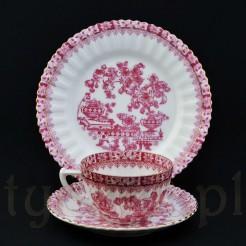 Zestaw śniadaniowy z kolekcji China Rot porcelana Tuppack