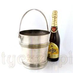 Luksusowy kubełek do chłodzenia szampana i alkoholi