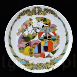 Talerz porcelanowy Concertina
