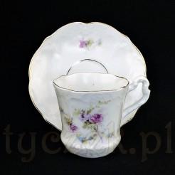 Kolekcjonerskie DUO marki CT z prawdziwej śląskiej porcelany