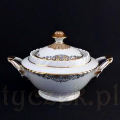 Elegancka porcelanowa cukiernica