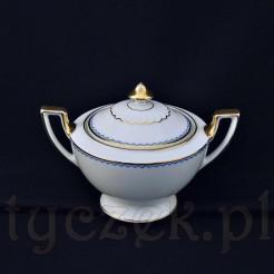 Znakomity porcelanowy wyrób z niemieckiej manufaktury Porzellanfabrik F. Thomas Marktredwitz Bavaria