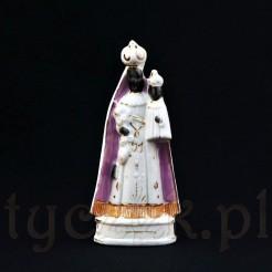 Ciekawa śląska figurka porcelanowa