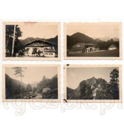 Wakacyjne ujęcia z 1933 r. na dawnych zdjęciach- 4 sztuki