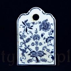 Fajansowy antyk ceramiczny z początku XX wieku