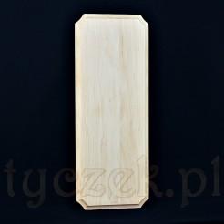 Klasyczna deska młynka ściennego - drewno surowe