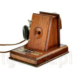 Antyk z około 1914 roku - domofon biurkowy ze stylowego gabinetu
