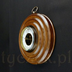 Piękny okrągły barometr ścienny