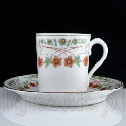 DUO z wałbrzyskiej porcelany CT epoki Jugendstil