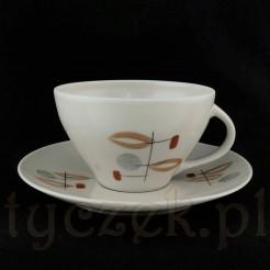 Joanna - porcelanowe duo barwy ecru.