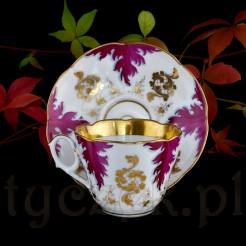 XIX wieczne porcelanowe duo najpewniej francuskiego pochodzenia.