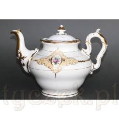 Luksusowy czajnik z XIX wieku