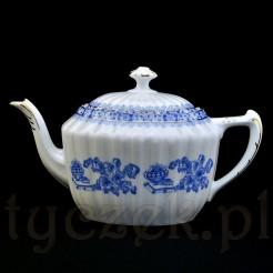 Oryginał do herbaty czajnik z porcelanowej kolekcji China Blau