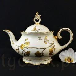 Cudowny porcelanowy dzbanek do herbaty