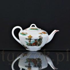Ekskluzywny dzbanek herbaciany w typie Japan Bunt