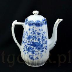 Ekskluzywny i rzadki dzbanek ze śląskiej porcelany Tuppack