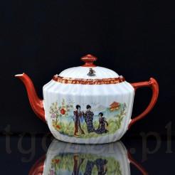 Śląski dzbanek do herbaty wykonany w Parowej