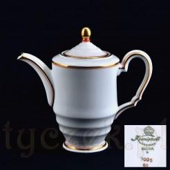 Dzbanek z epoki Art Deco porcelana śląska marki Koenigszelt