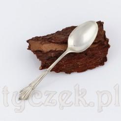Angielski plater - piękna łyżeczka idealna do kawy lub herbaty.