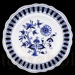 MEISSEN Wspaniały okaz ze wzorem cebulowym na porcelanie