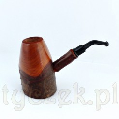 Duża fajka karciana z czereśni