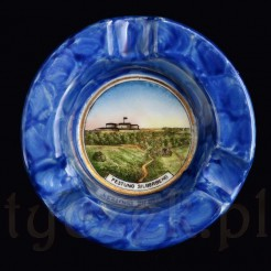 Festung Silberberg - porcelana z widokiem Srebrna Góra