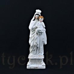duża zabytkowa figura święta Madonny