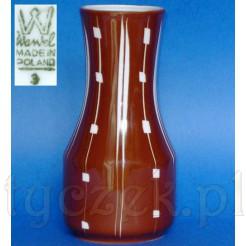 Modernistyczny wazon z wytwórni Krzysztof w Wałbrzychu