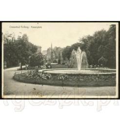 Widok kartki pocztowej przedstawiającej Kołobrzeg
