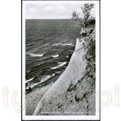 Widok kartki pocztowej przedstawiającej Międzyzdroje